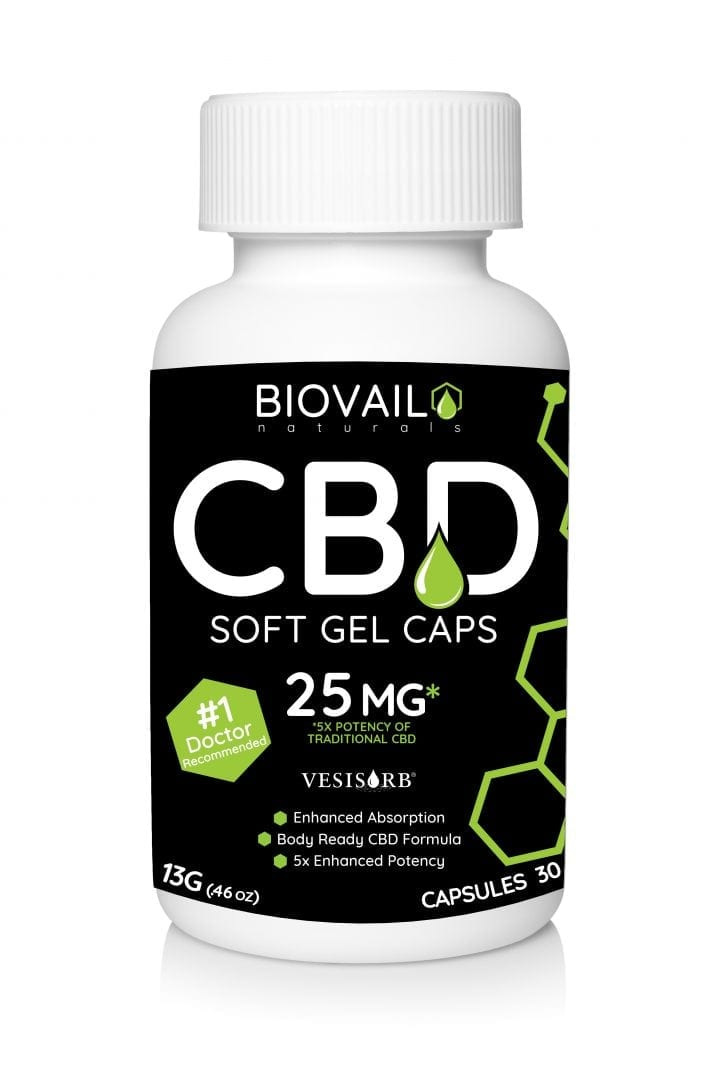 CBD Gel Bottle Mock